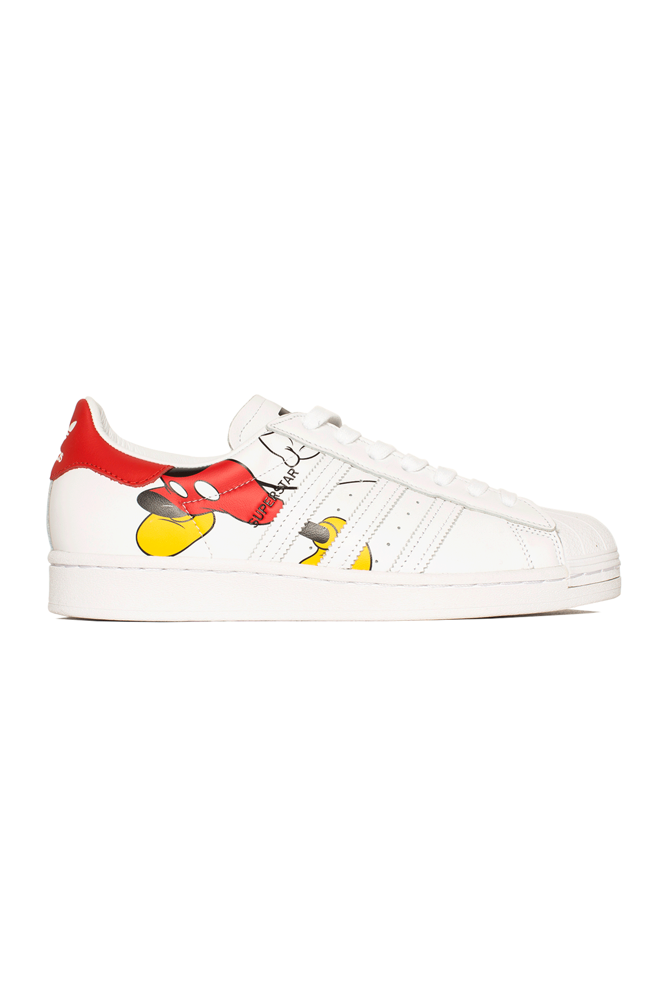 Superstar x Mickey Mouse White
