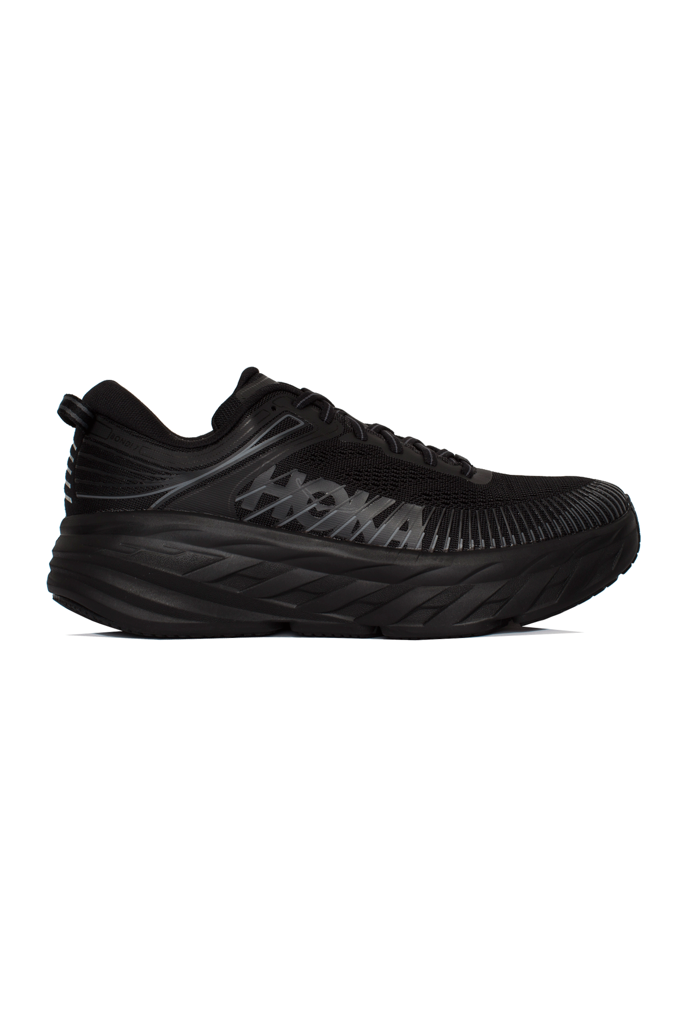 Hoka One One Sneakers Bondi 7 Black HK.1110518#000#BBLC#7 - One Block Down
