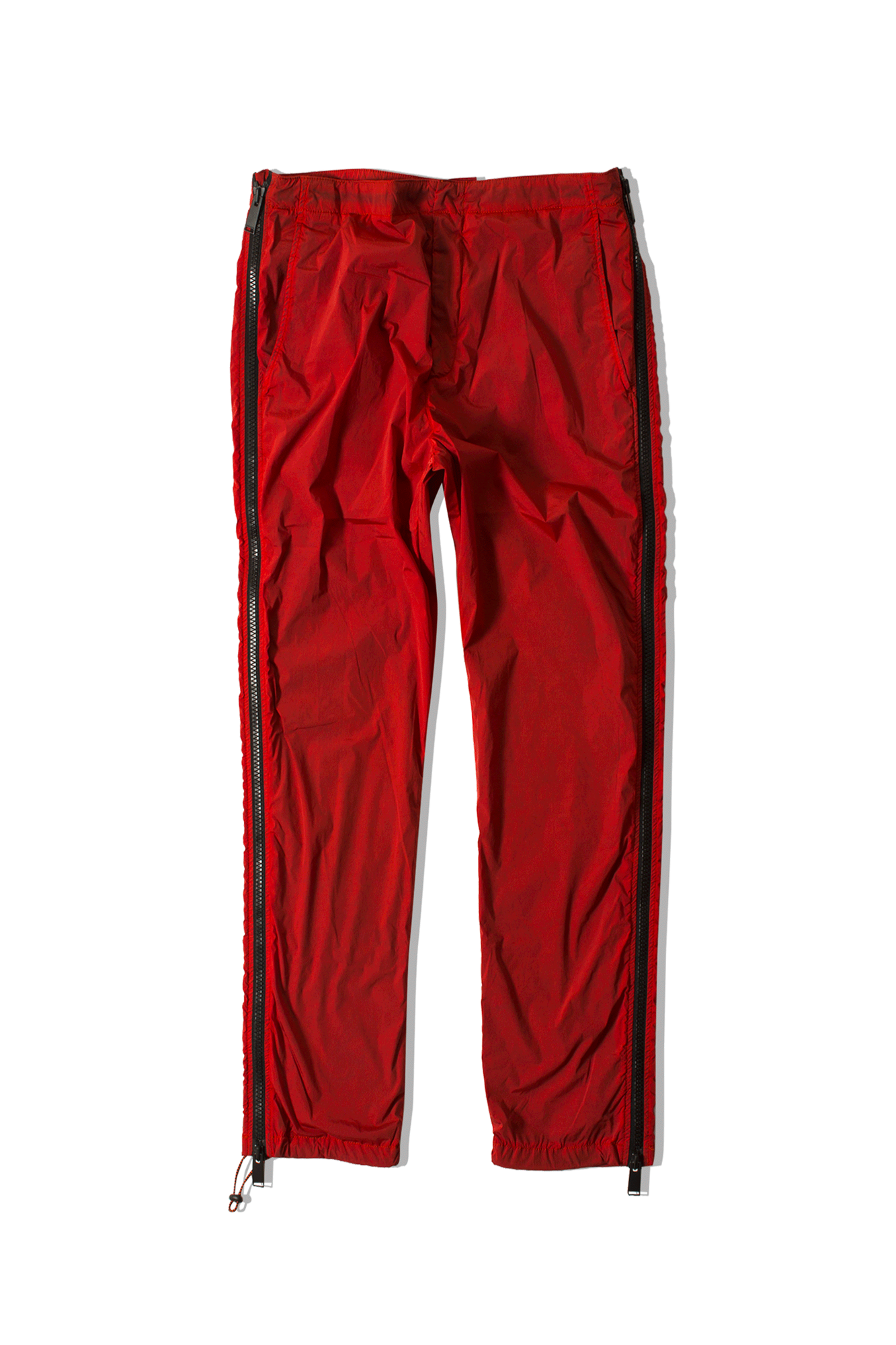Side Zip Pant Red