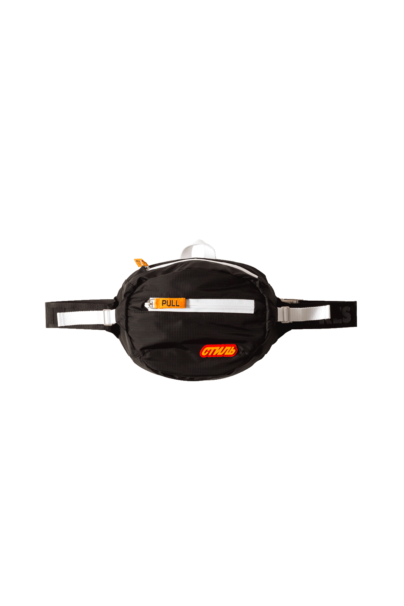 CTNMB Padded Fanny Pack Orange Orange Black