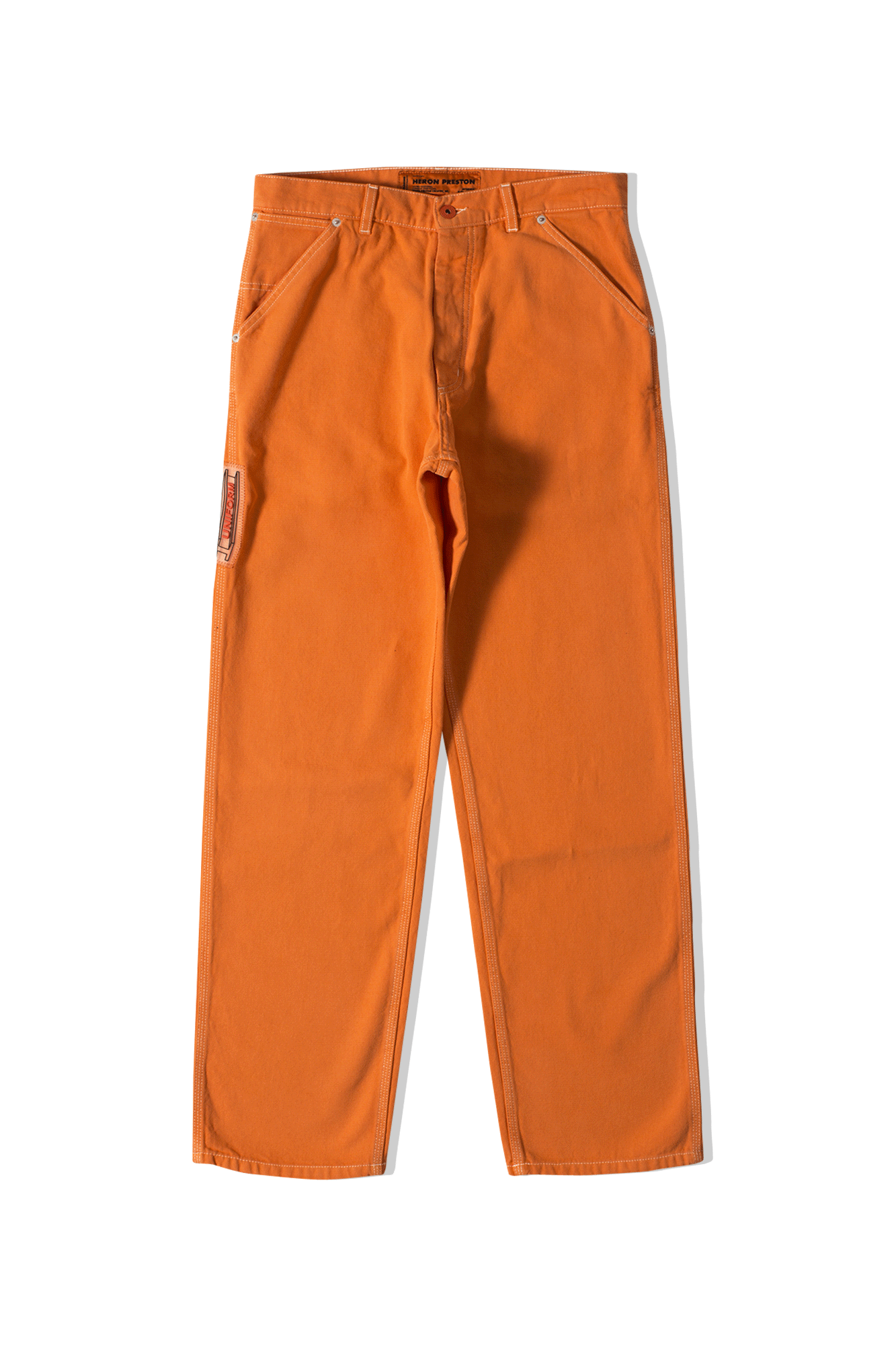 Uniform Pants Canvas Orange