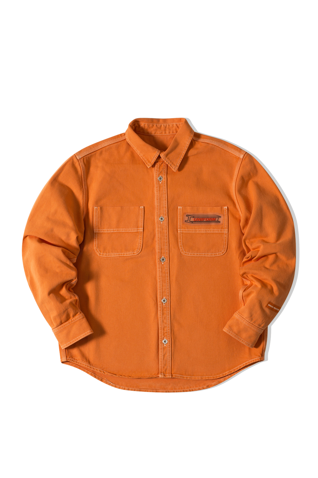 Uniform Shirt Canvas Orange
