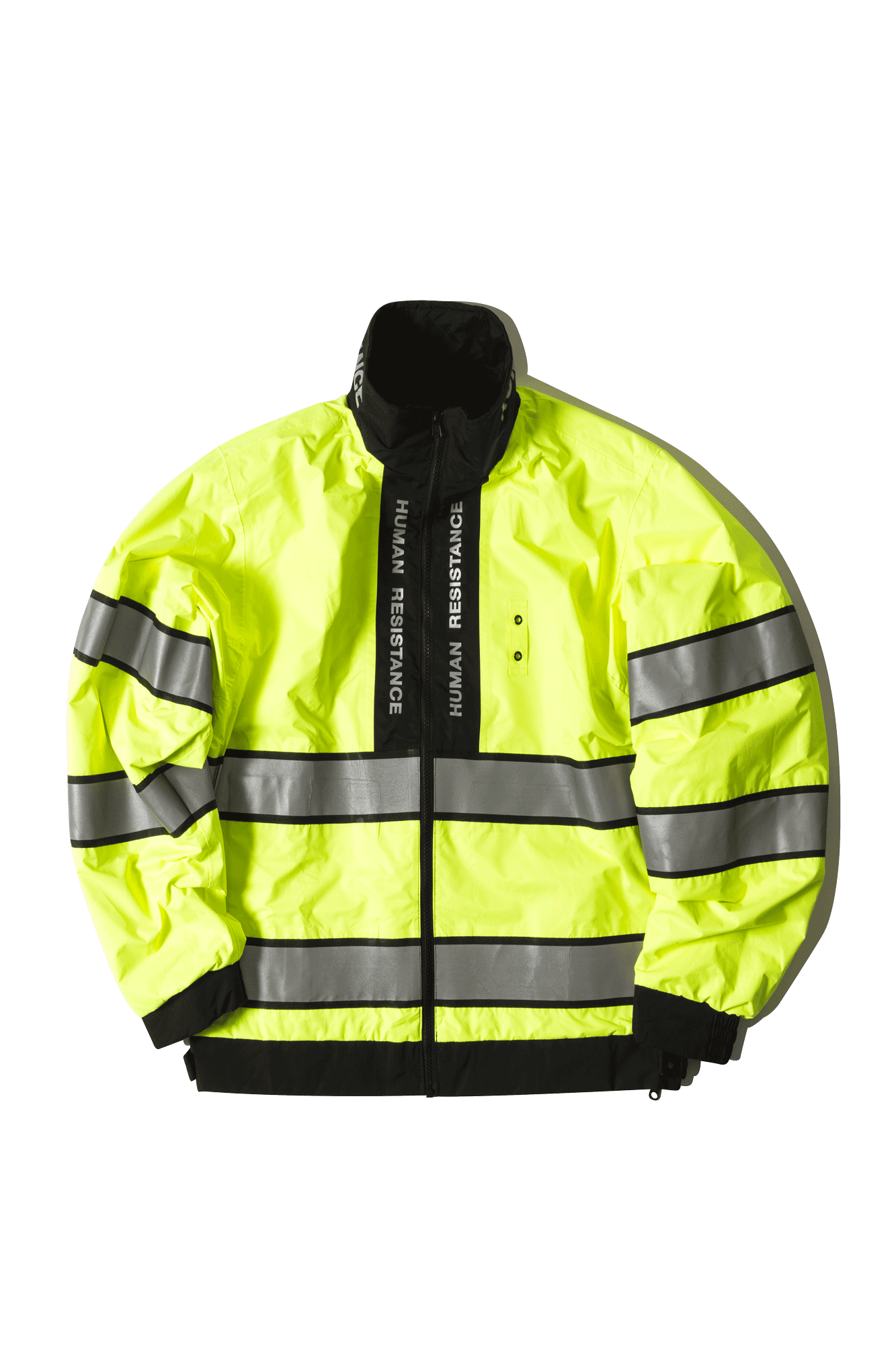 Human Resistance Jackets HR High Visibility JKT Black HRHVJKT#000#BLACK#S - One Block Down