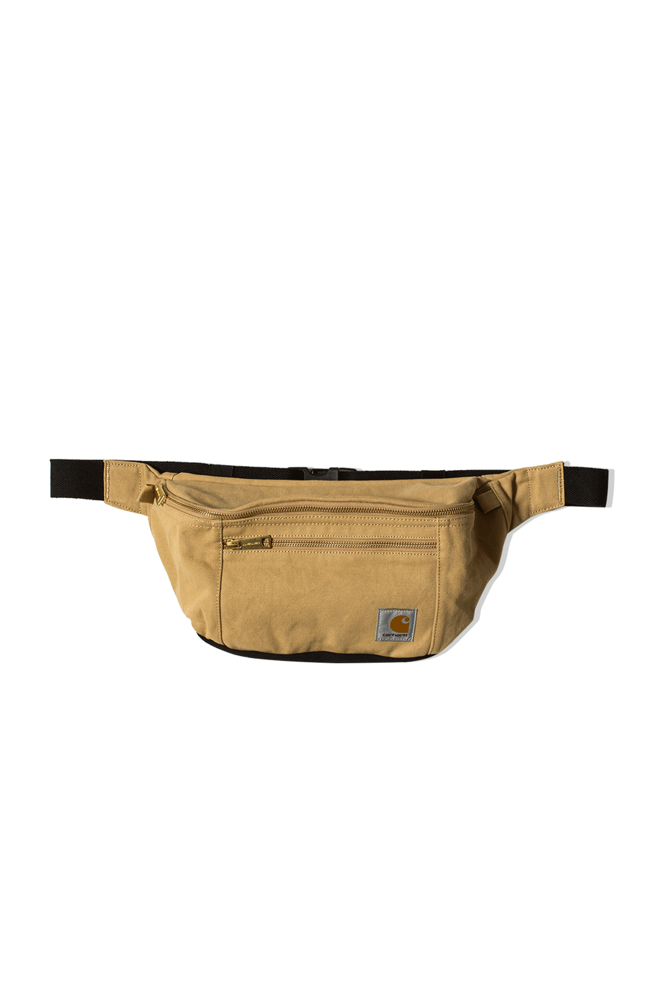 Canvas Hip Bag Brown