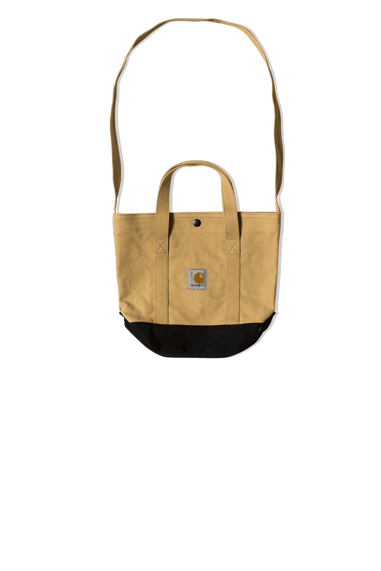 Carhartt Totes Canvas Small Tote Bag Brown I028886.06#000#07E.90#OS - One Block Down