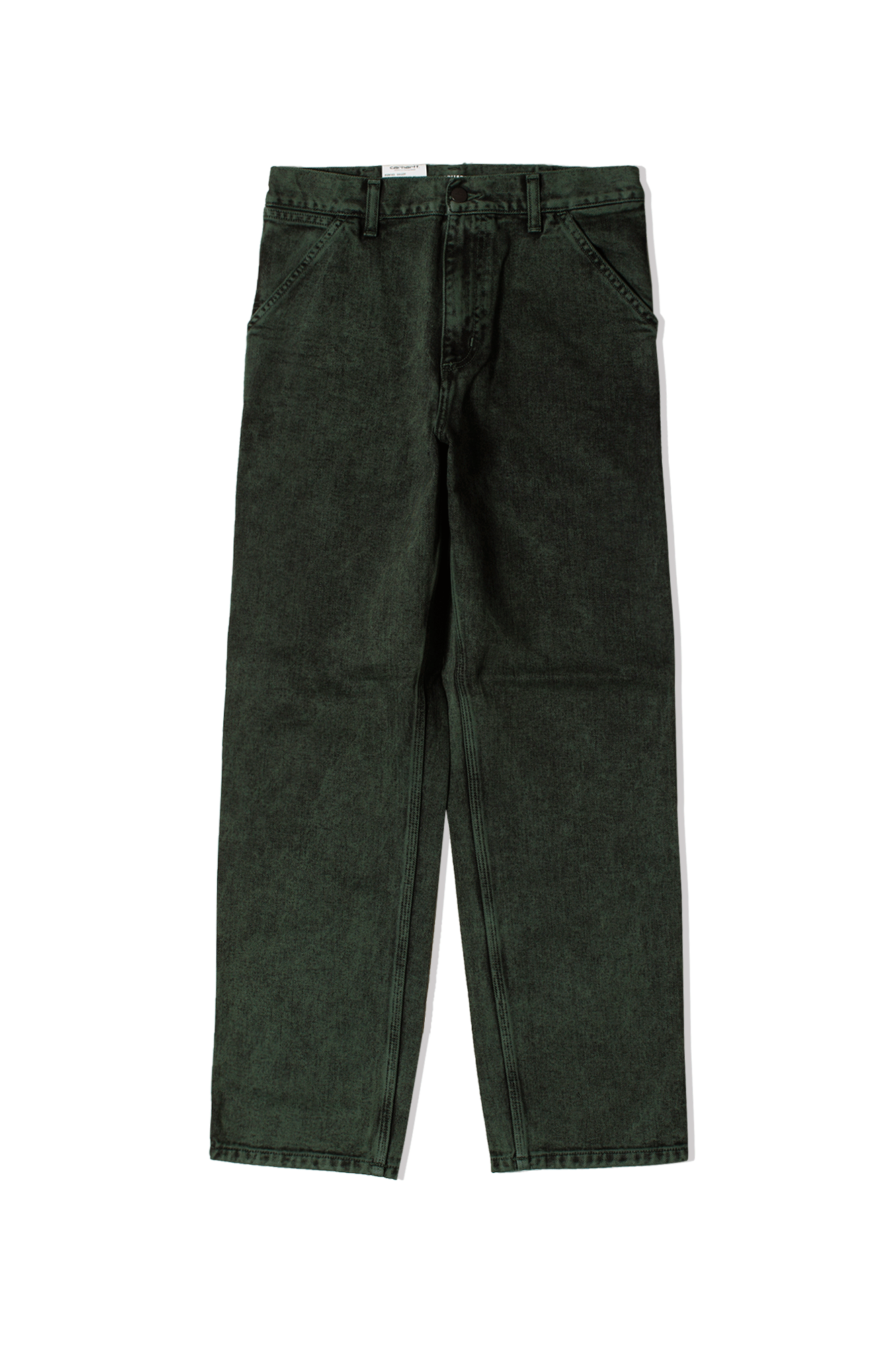 Single Knee Pant Green