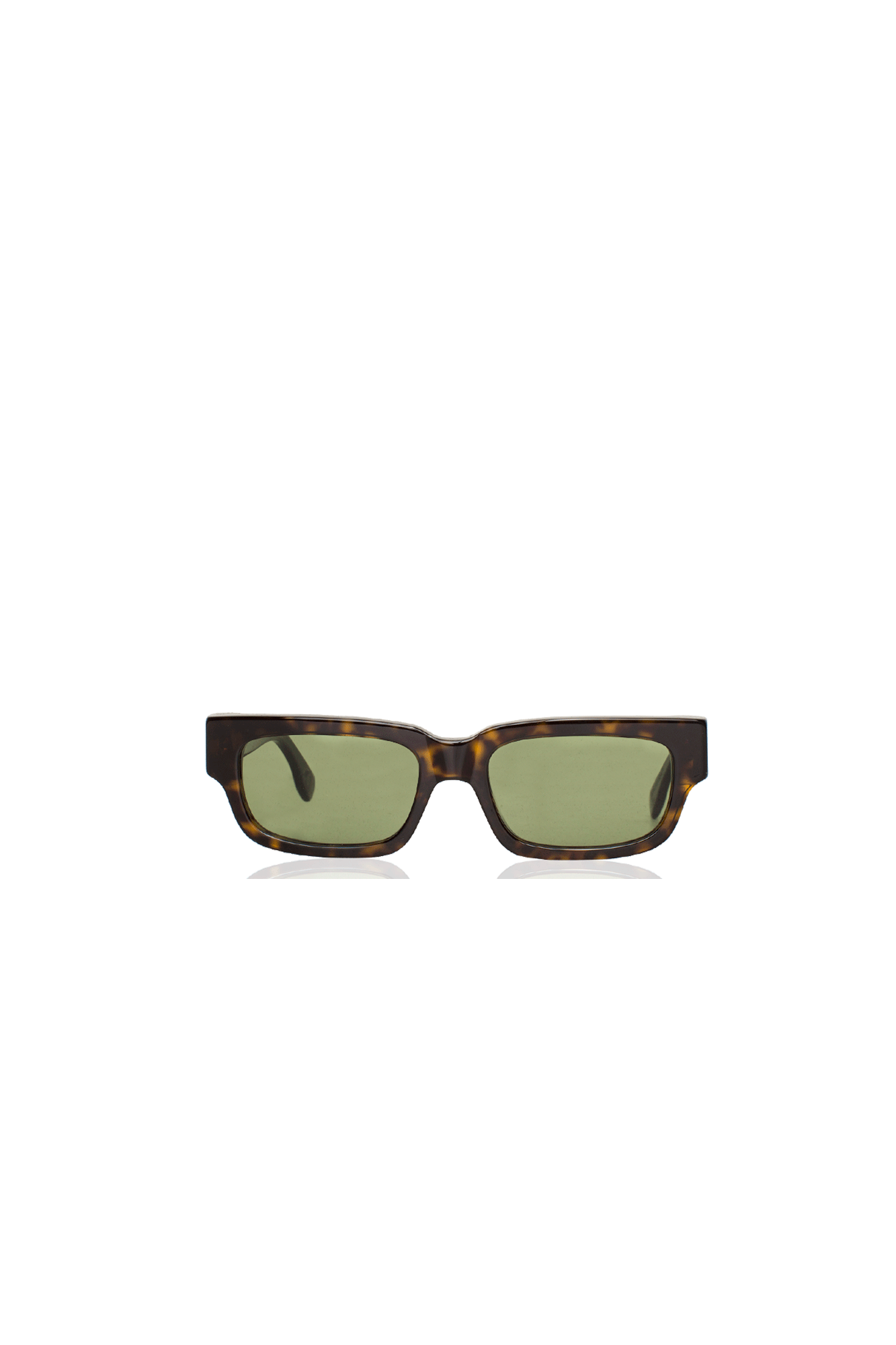 Retrosuperfuture Sunglasses Roma 3627 Green I5DU#000#GRN#OS - One Block Down