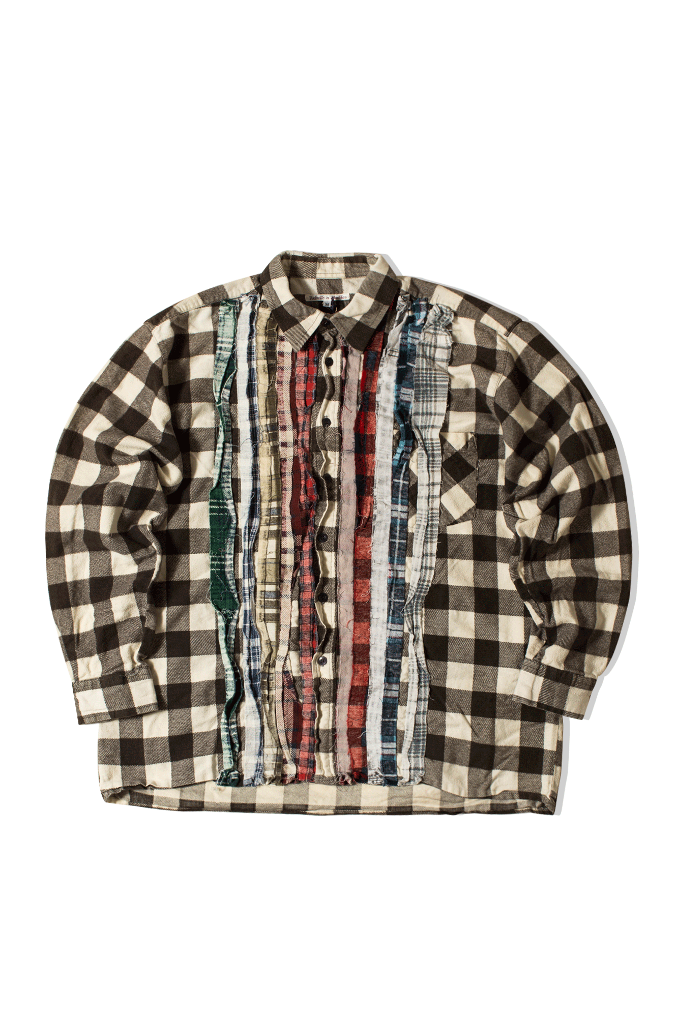 Needles Shirts Ribbon Flannel Shirt Multicolor IN244-M#000#MLT#M - One Block Down