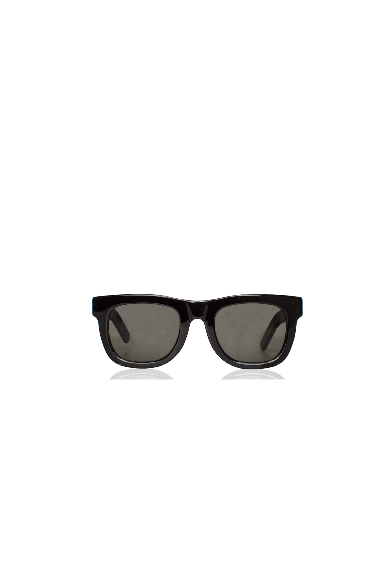 Retrosuperfuture Sunglasses Ciccio Black IPO1#000#BLK#OS - One Block Down