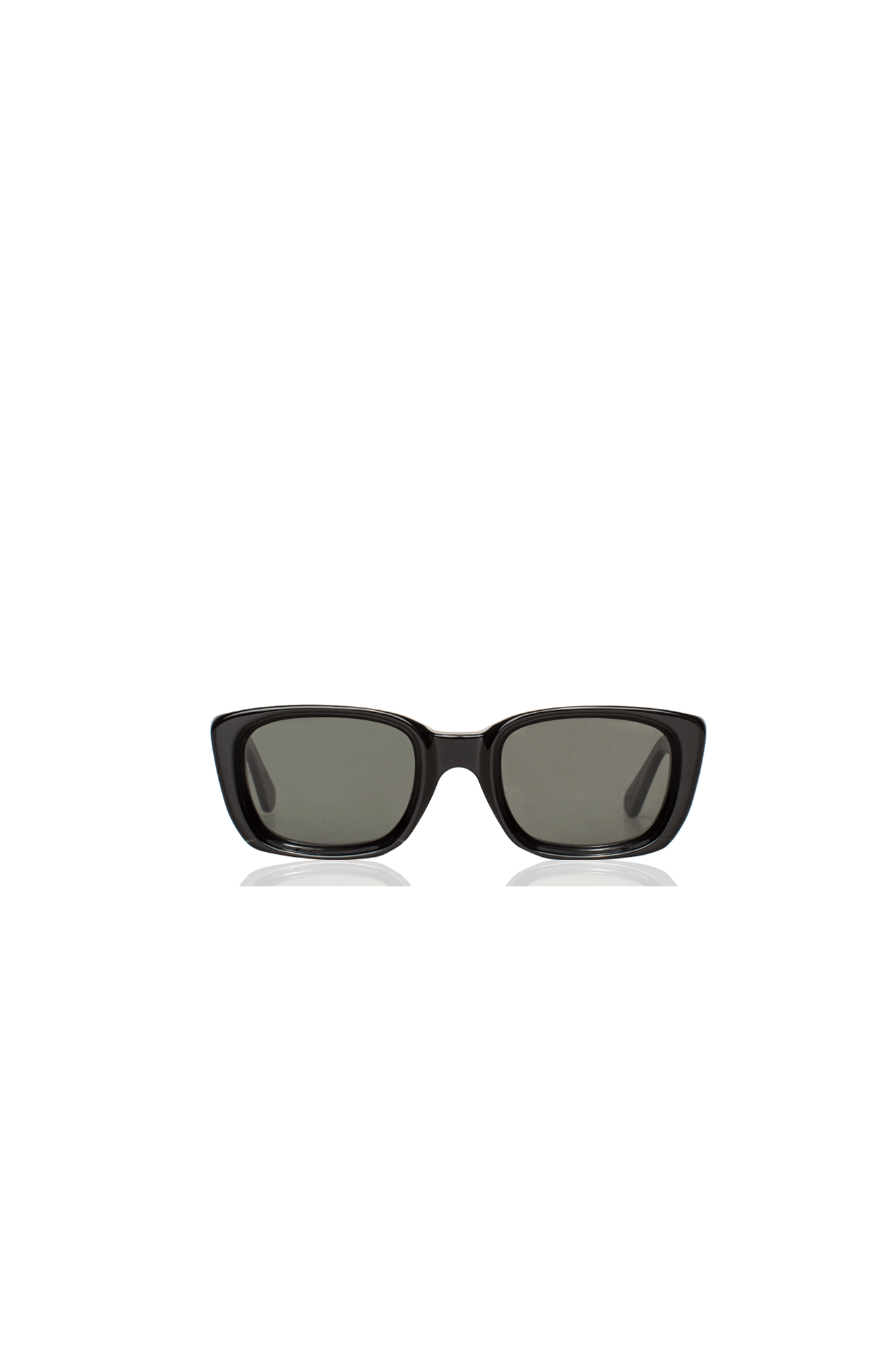 Retrosuperfuture Sunglasses Lira Black IV8S#000#BLK#OS - One Block Down