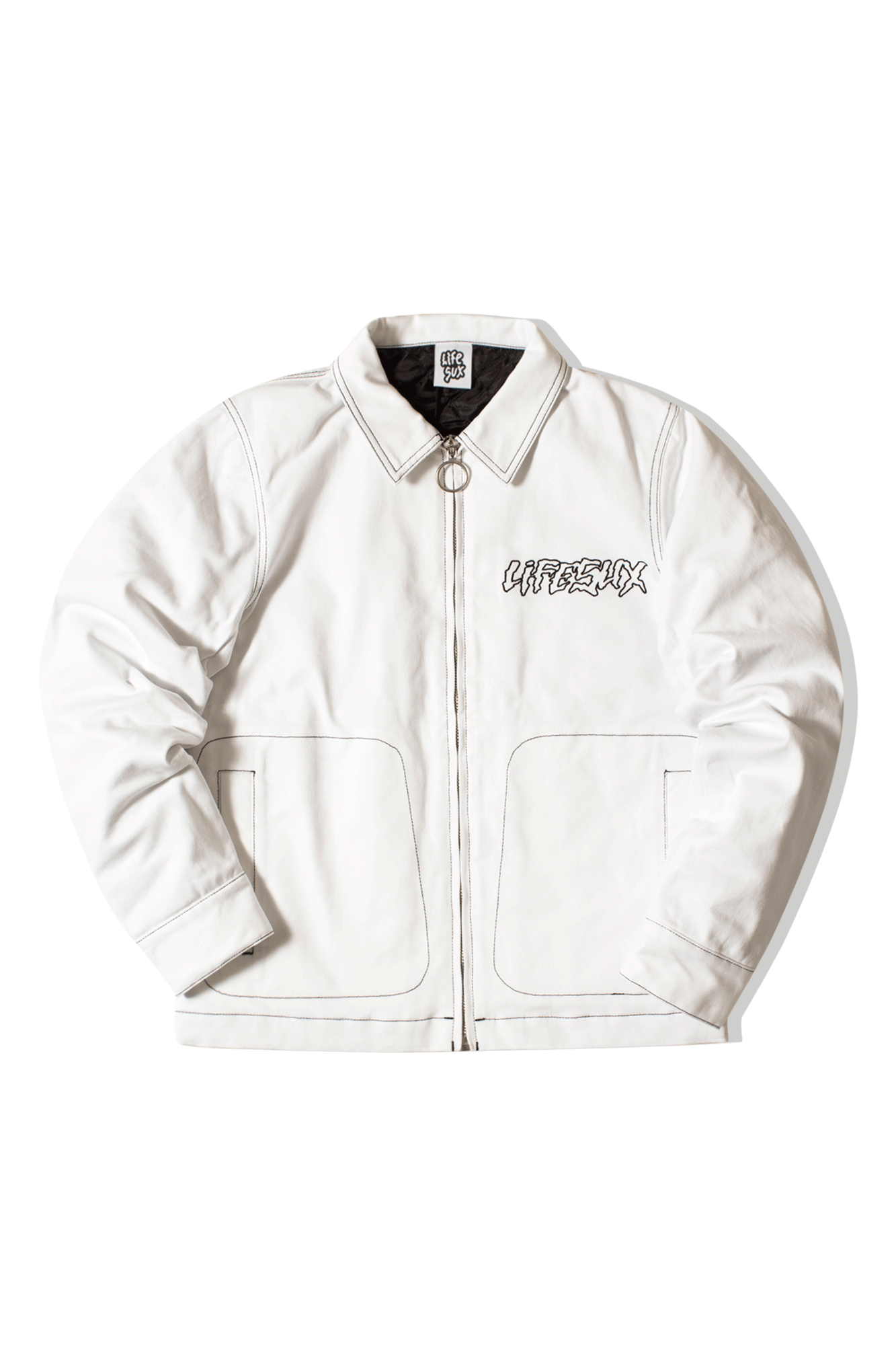 WORKER JACKET White