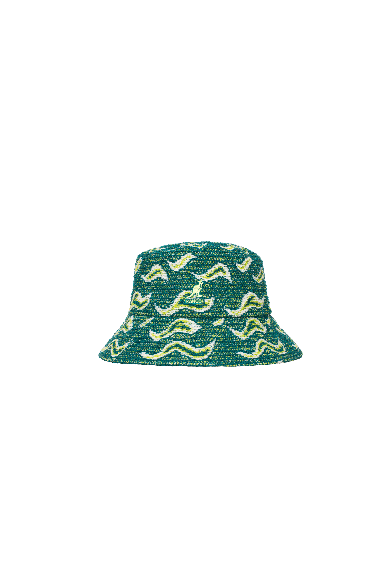 Wave Camo Bucket Green
