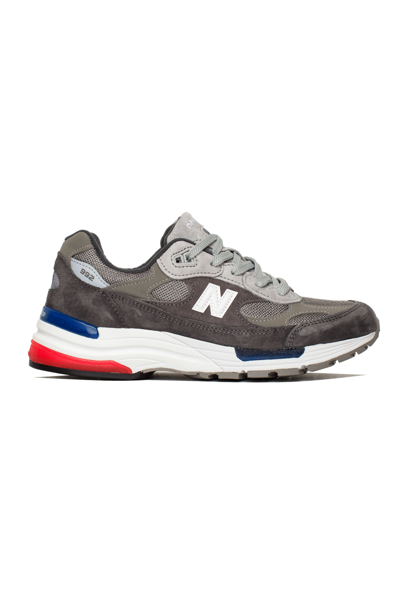 New Balance Sneakers 992 Grey M992#000#AG#8 - One Block Down