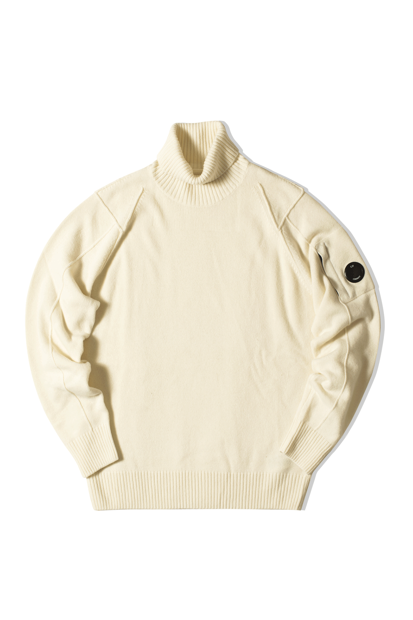 TURTLE NECK White