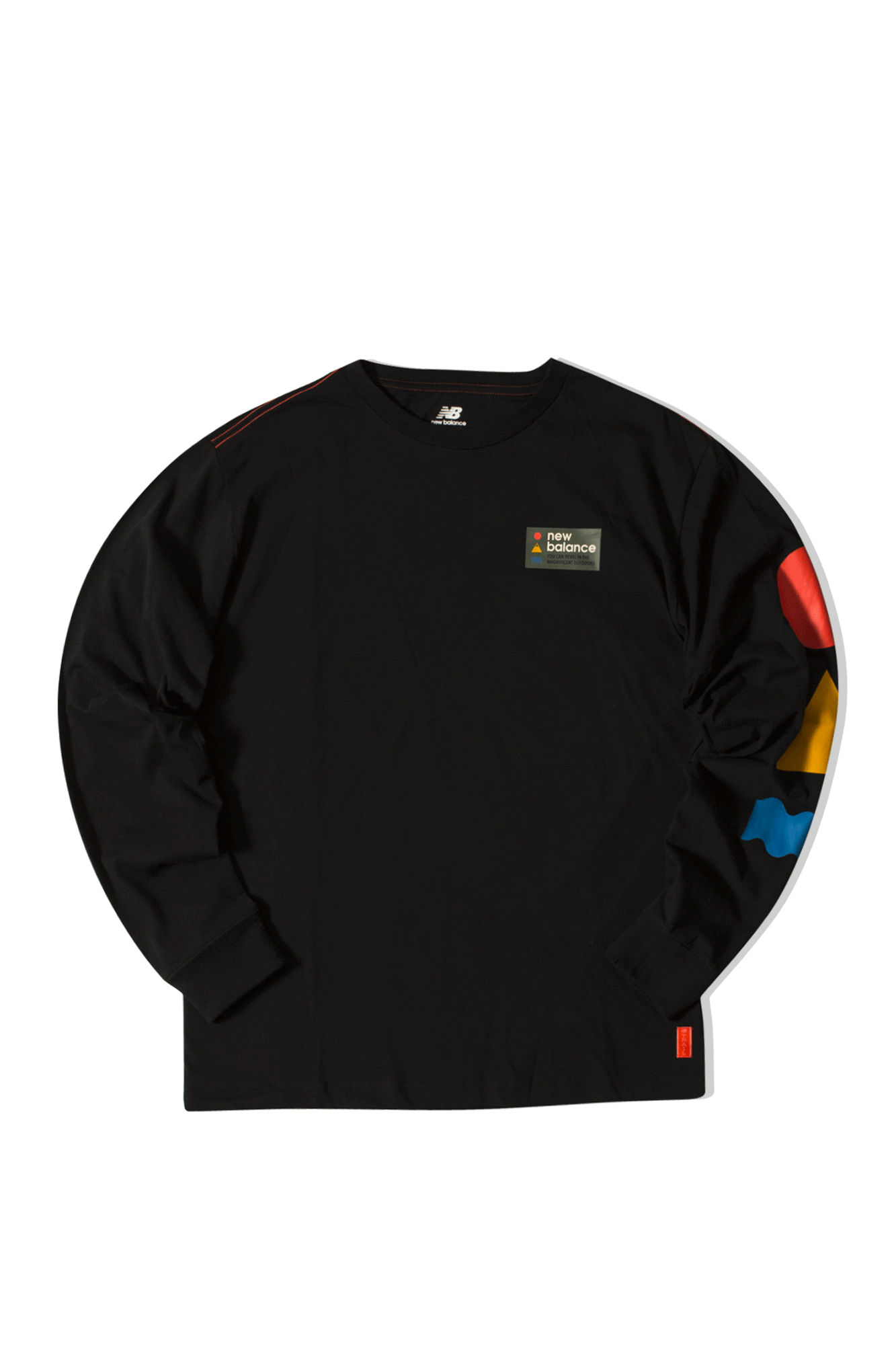 Athletics Trail LS T Black