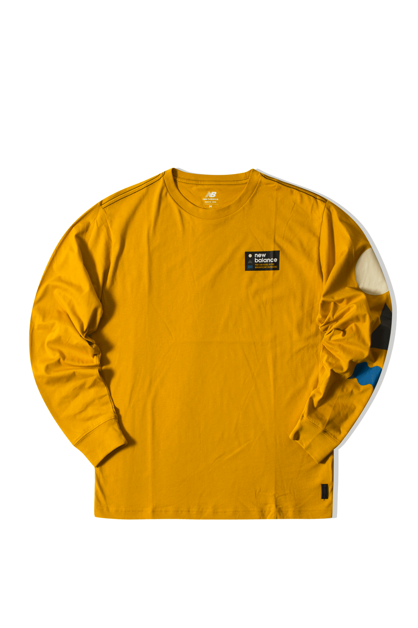 Athletics Trail LS T Gold