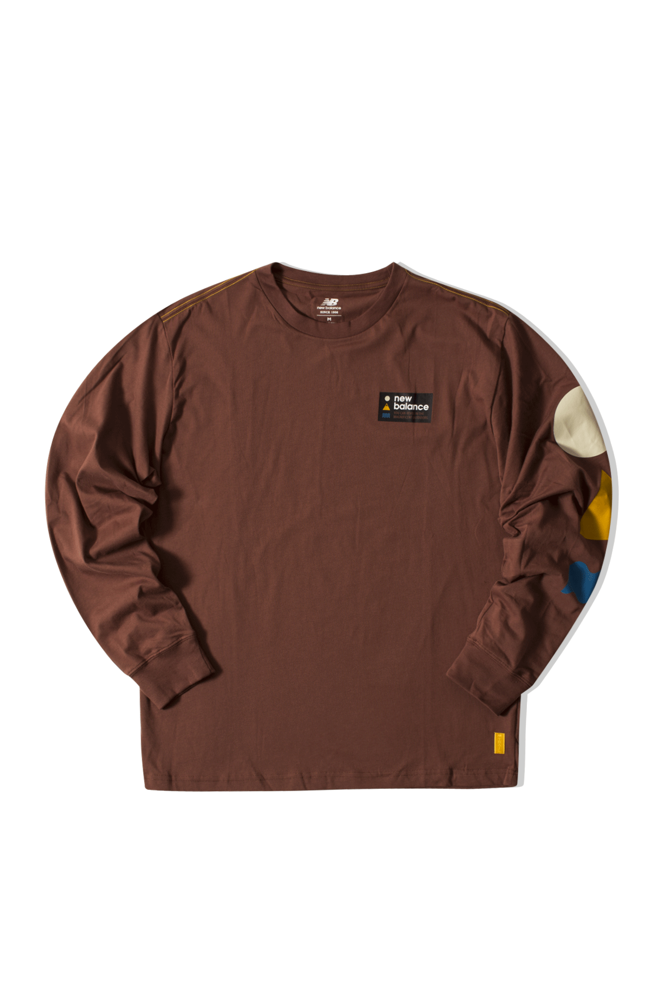 Athletics Trail LS T Brown