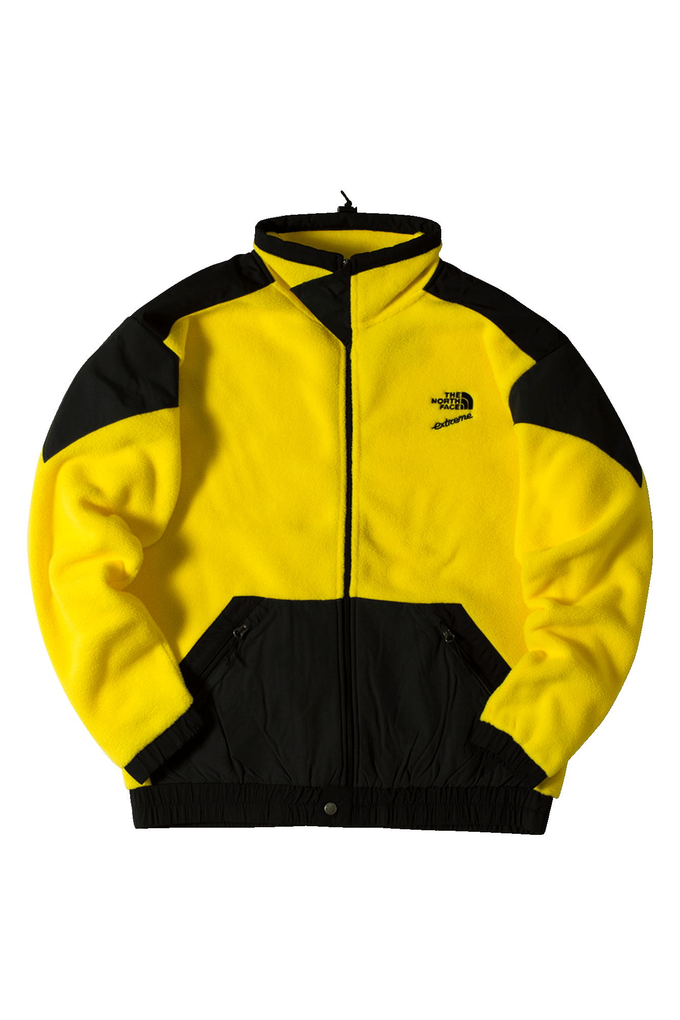 90 Extreme Fleece FZ Zip-Up Sweatshirt Yellow