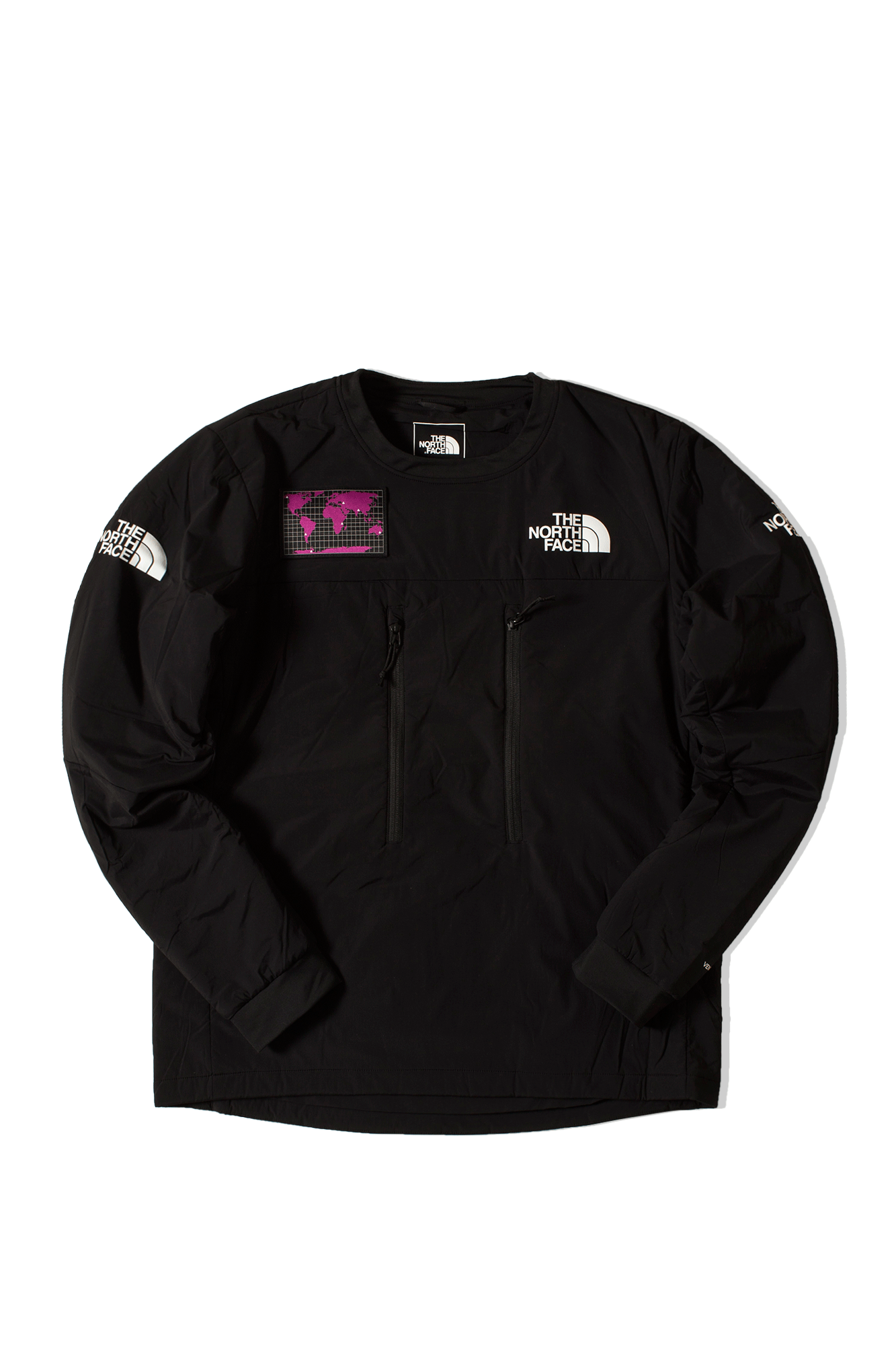 The North Face Sweaters M Him Light Ventrix Crew Black NF0A4AIRJ#000#K31#S - One Block Down