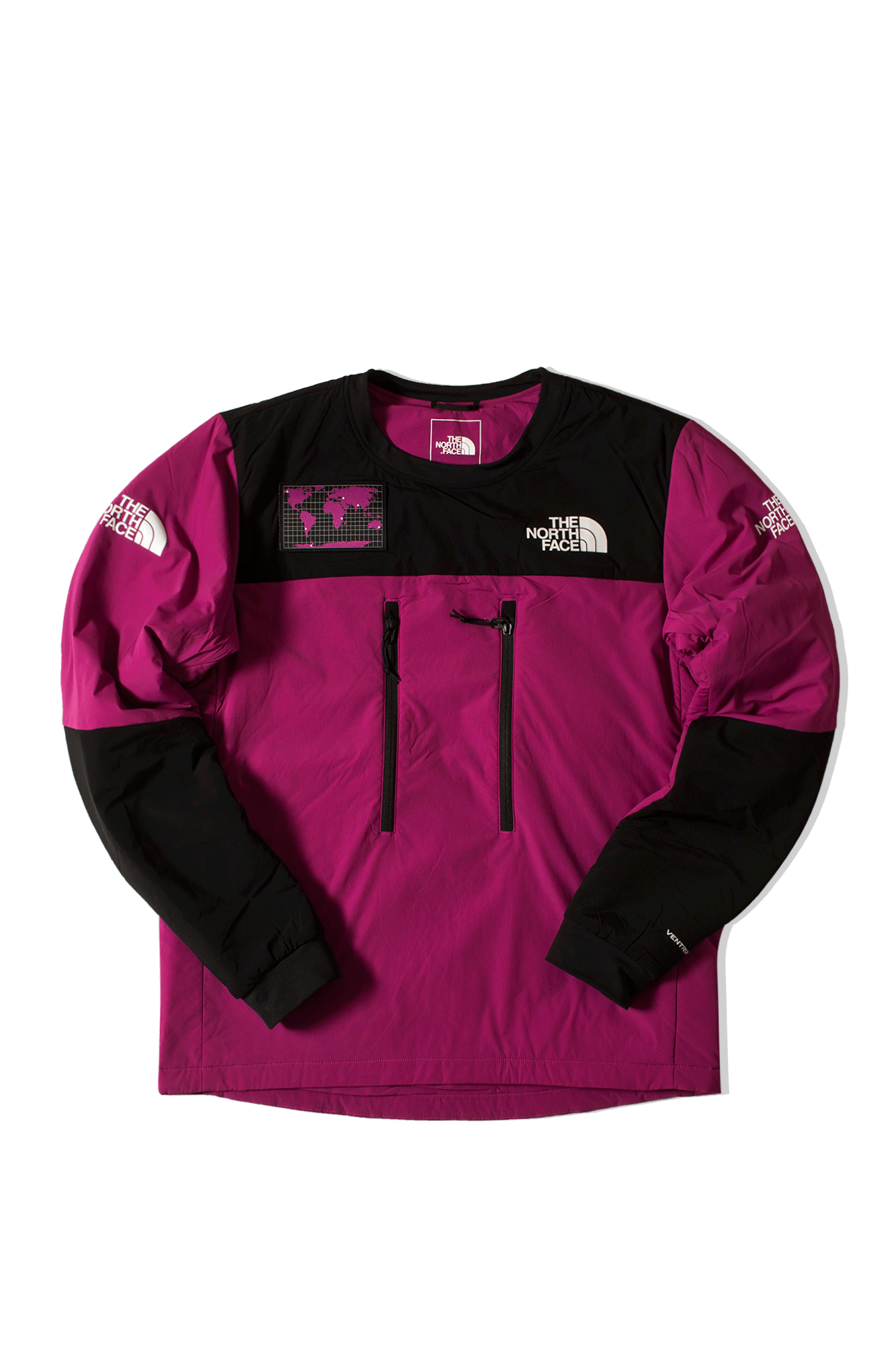 M Him Light Ventrix Crew Purple