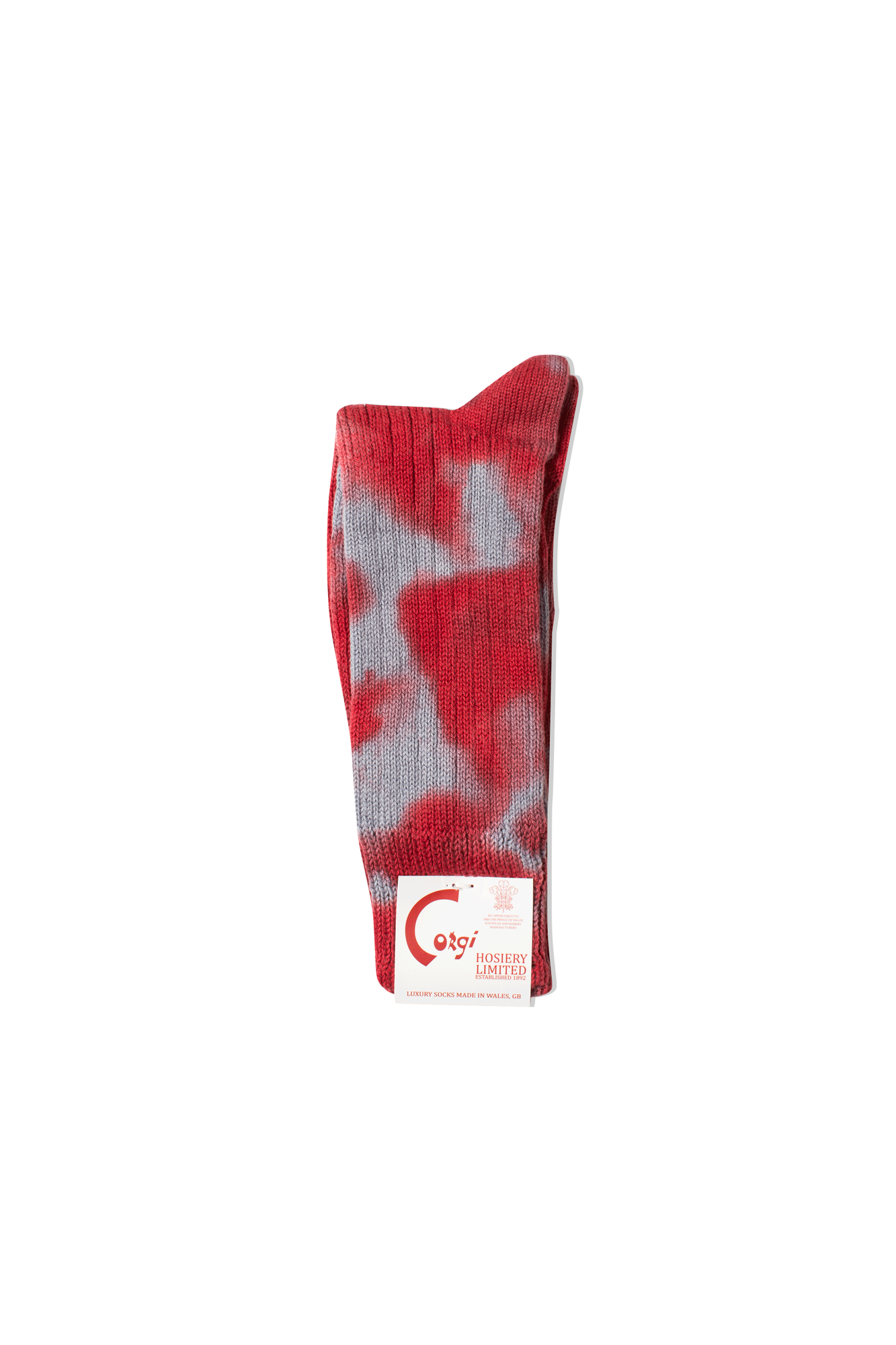 Suicoke Socks Tie Dye Sock Red OG-SOX-CG03#000#118#S - One Block Down