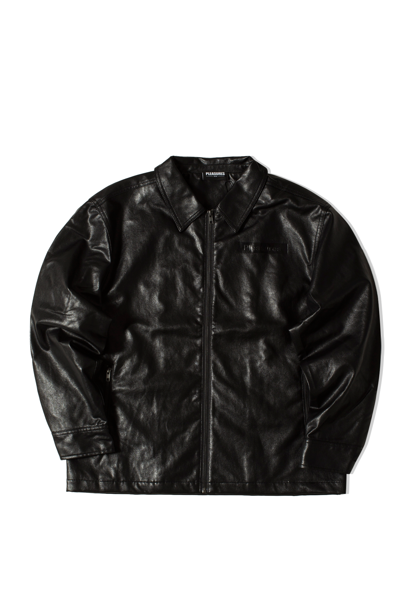 Loaded Zip Jacket Black