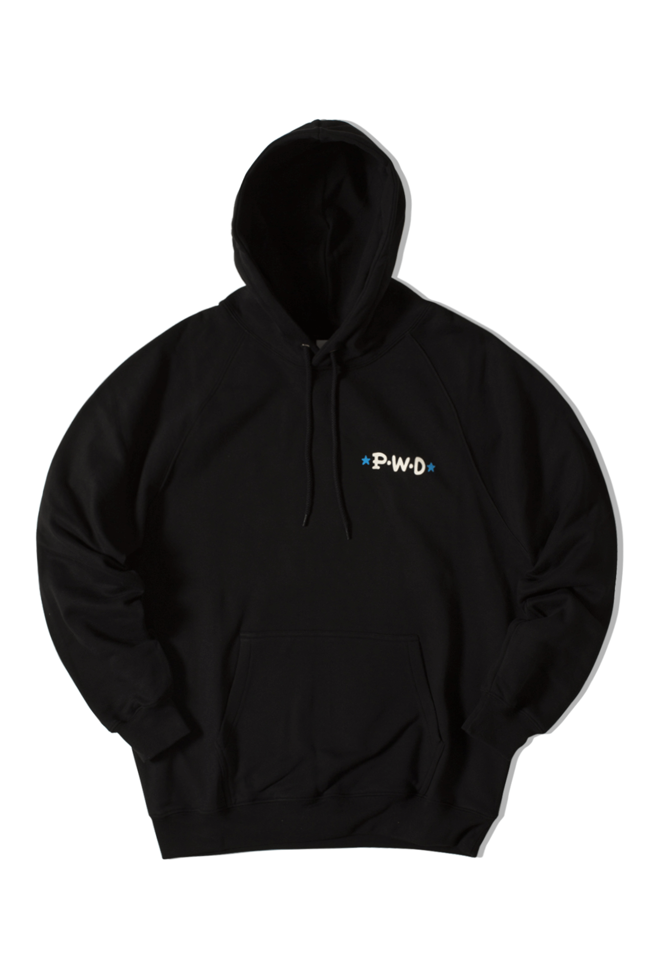 Polar Hooded sweatshirts P.W.D. Hoodie Black POLPWDHOOD#000#BLK#XS - One Block Down