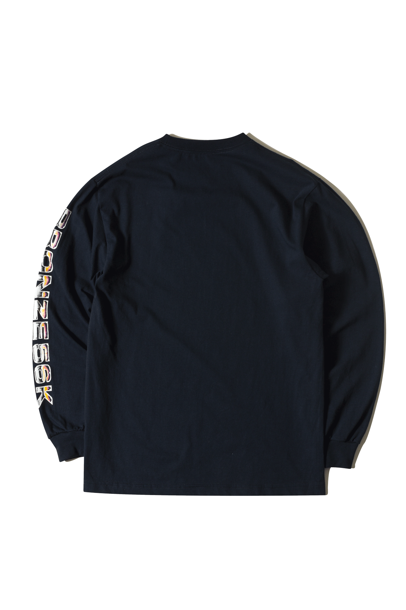 Bronze 56K Long sleeve T-Shirts LS T-shirt Shoulder lean Blue SHOULDERLE#000#NAVY#XXS - One Block Down