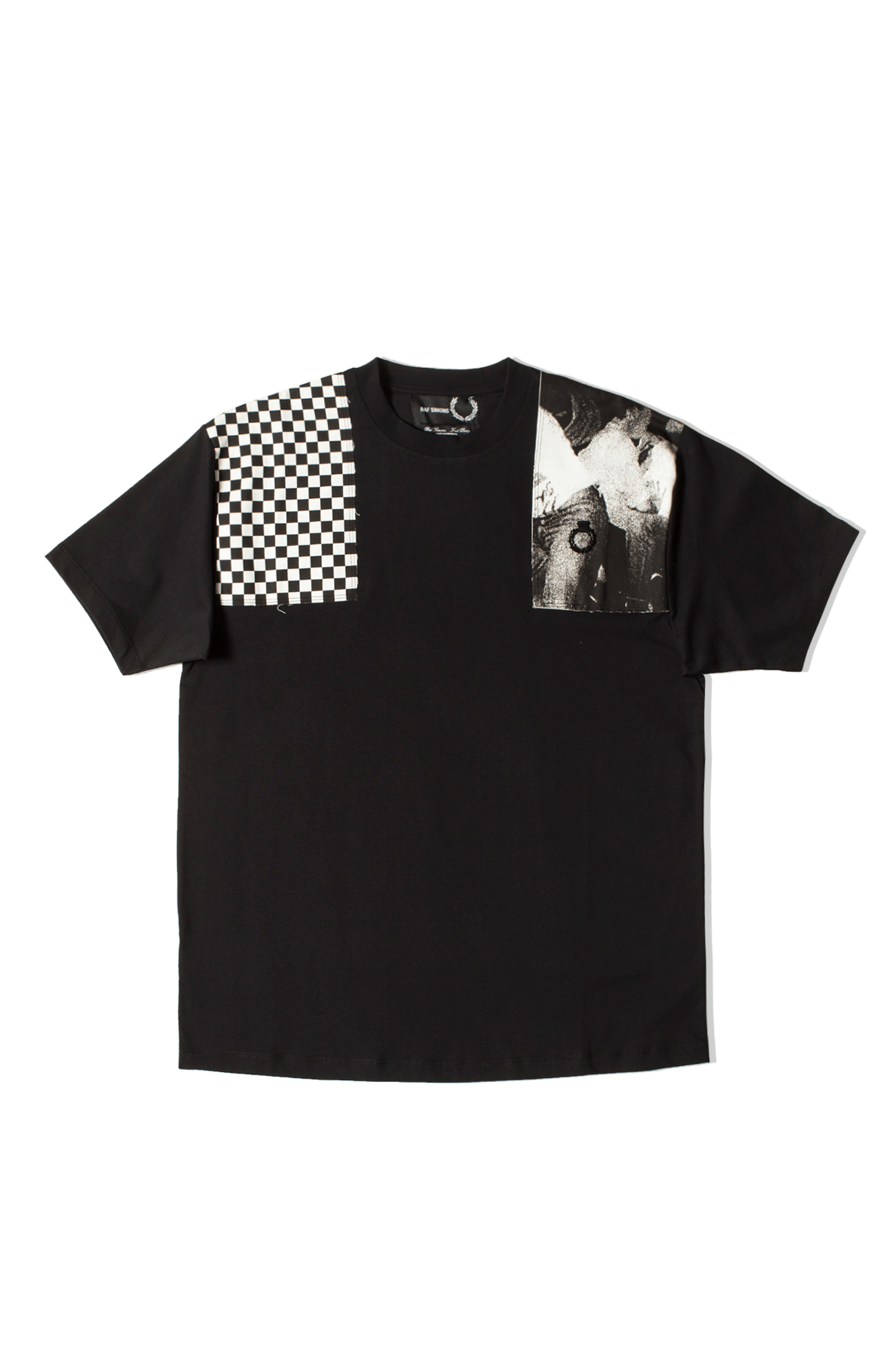 Oversized Printed Patch T-Shirt x Raf Simons
