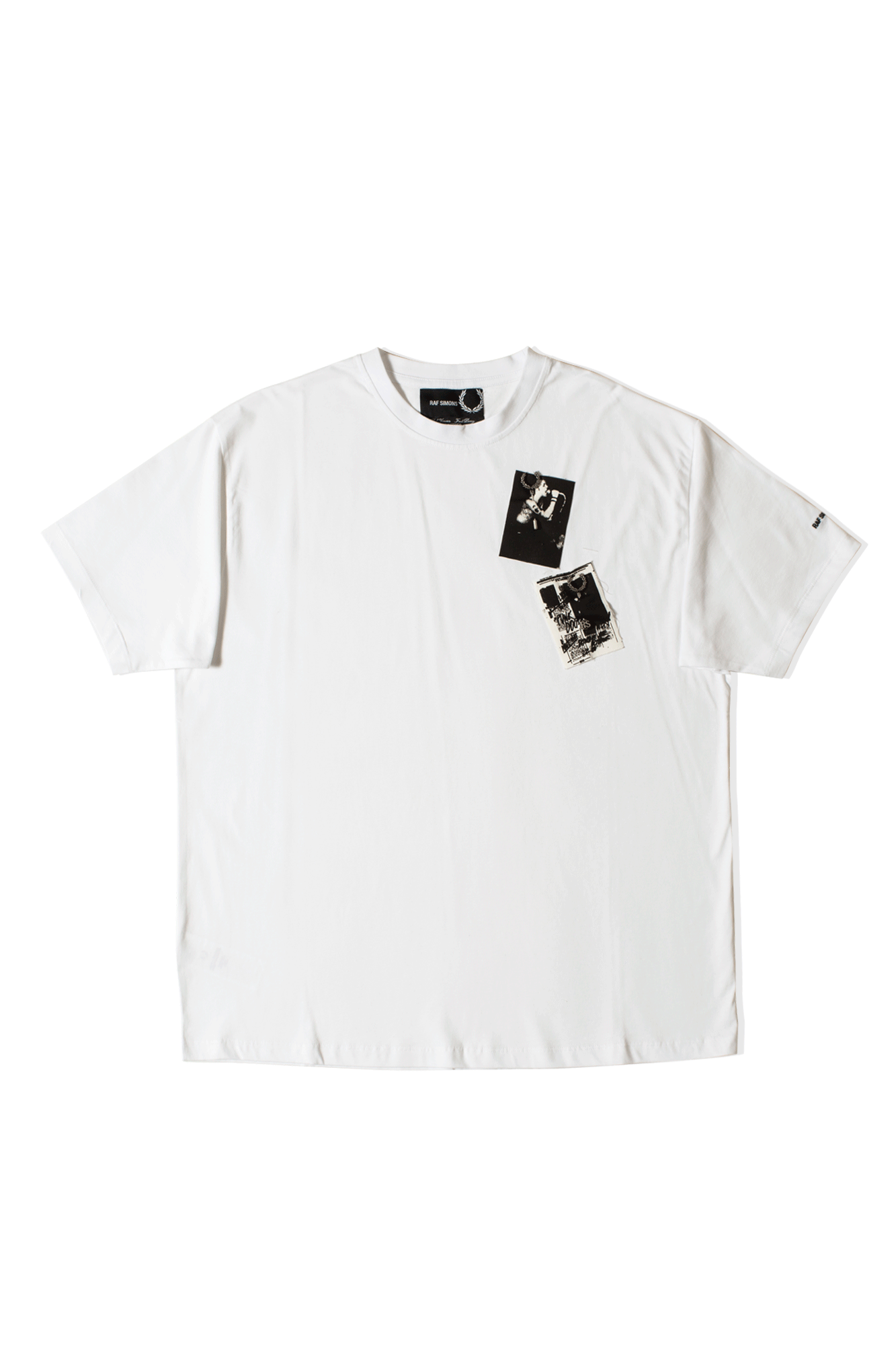 Raf Simons Printed Patch T-Shirt White