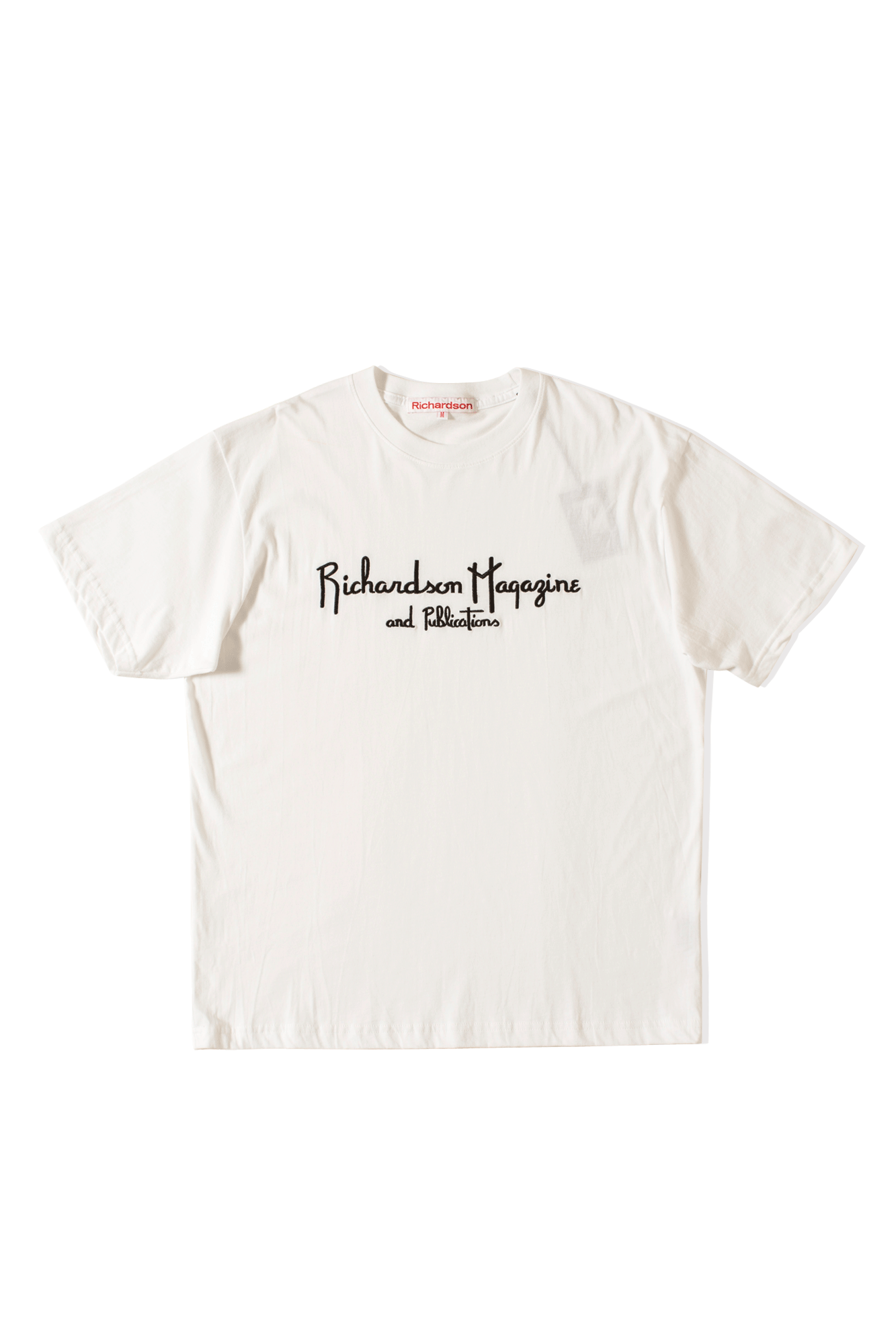 Richardson Magazine T-Shirt White
