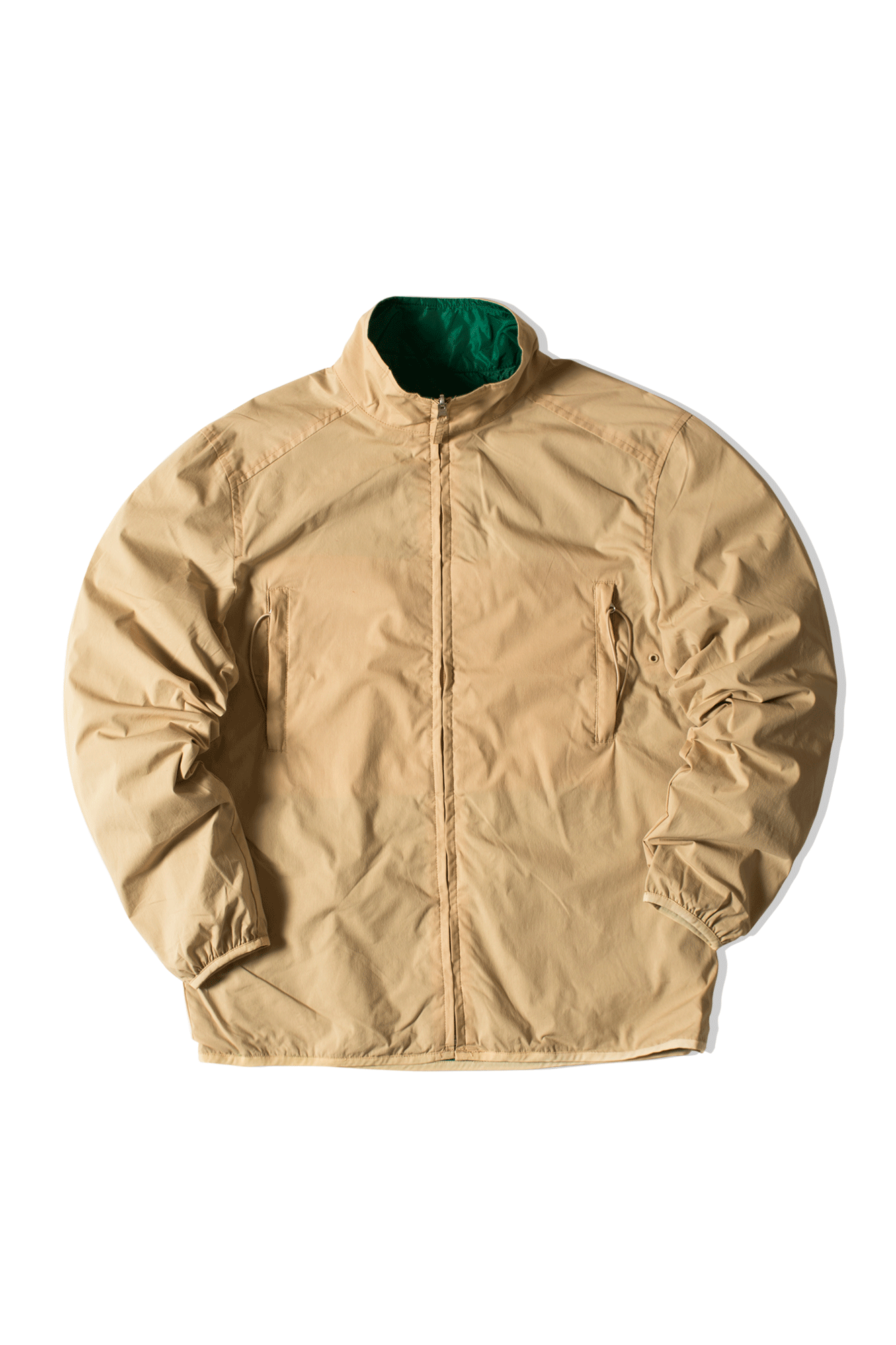 Pop Trading Company Jackets Plada Jacket Brown SS2005-005#000#KHGRN#M - One Block Down
