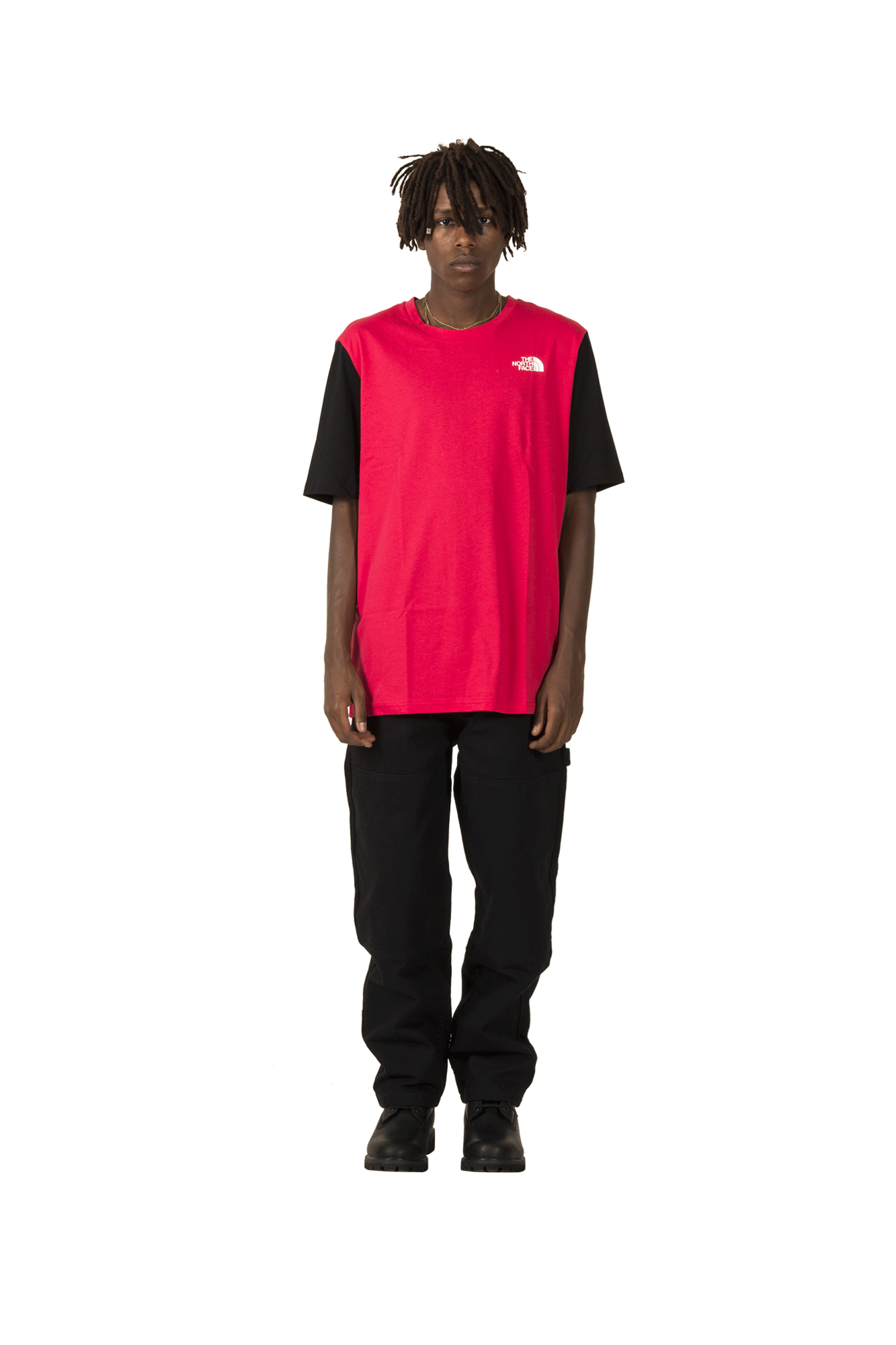U RAGE S/S GRAPHIC T Red
