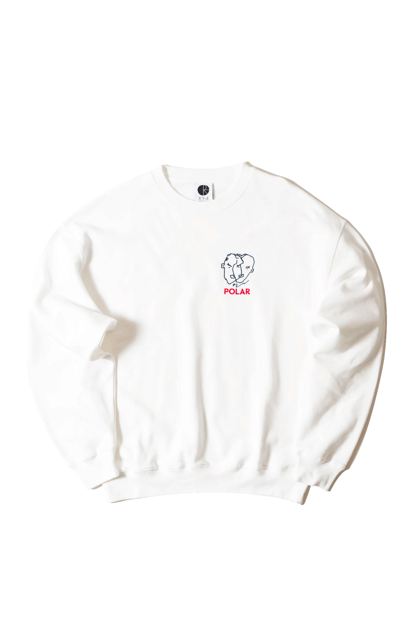 Two Sided Crewneck White