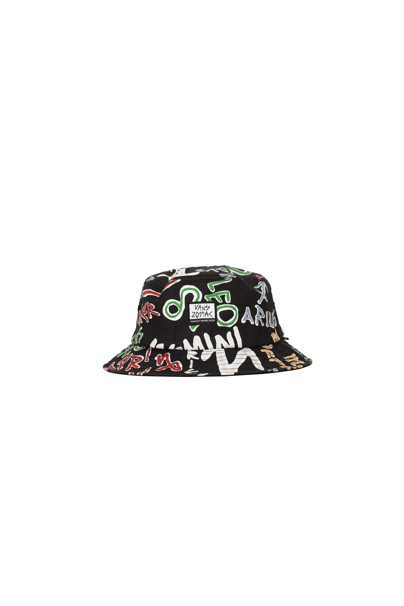 OG Zodiac Bucket Hat Black