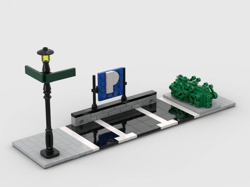 Modular Corner Parking - Turn any modular into a corner - BuildAMOC
