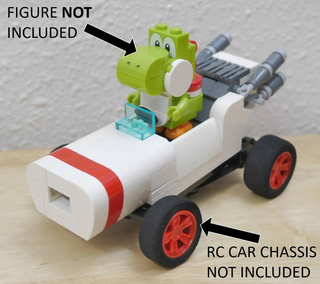 Video Game Go Kart - Type 3 (RC Car Base)