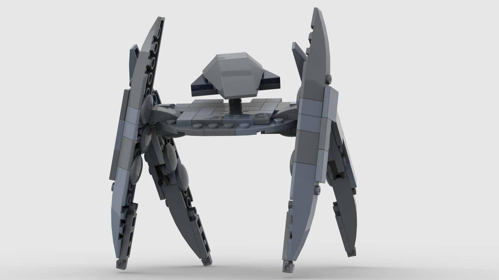 Vulture Droid Starfighter CIS blue ROTS Version