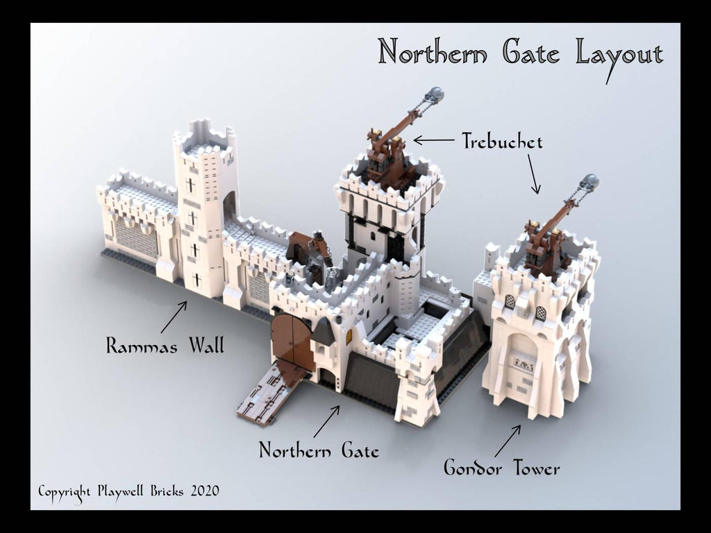 Northern Gate - Rammas Echor - Gondor