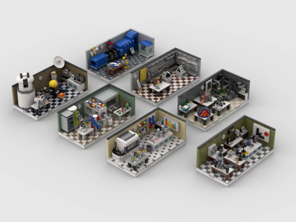 Lab Set Pack | build from 7 mocs