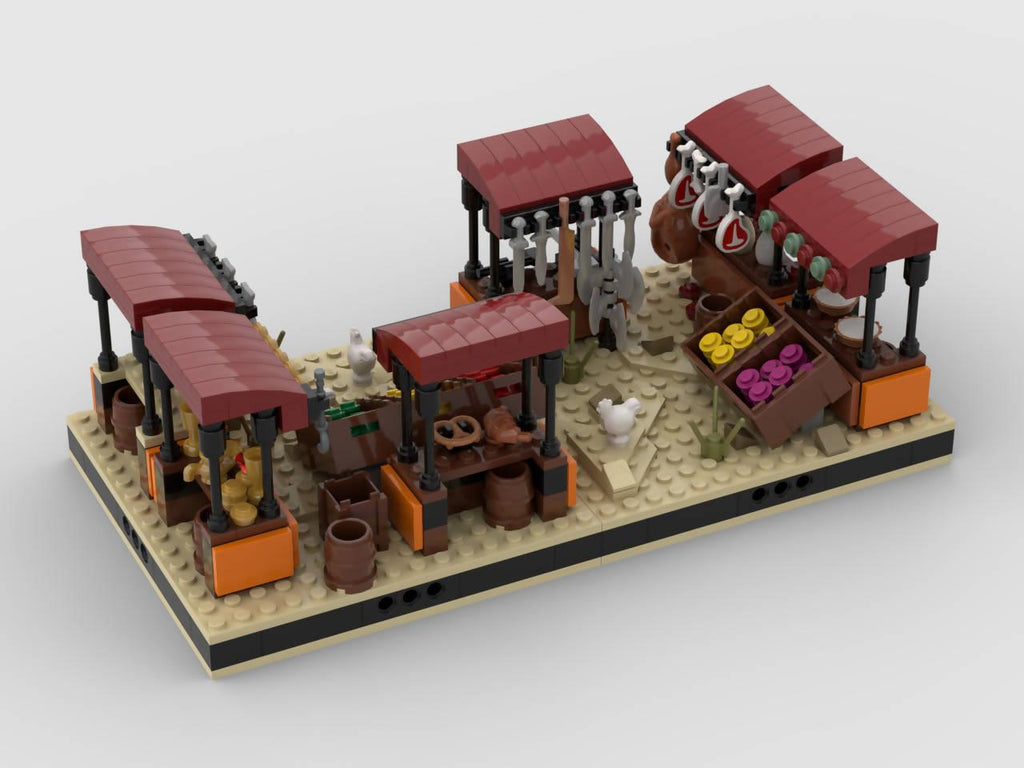 Desert Market #9 for a Modular Tatooine