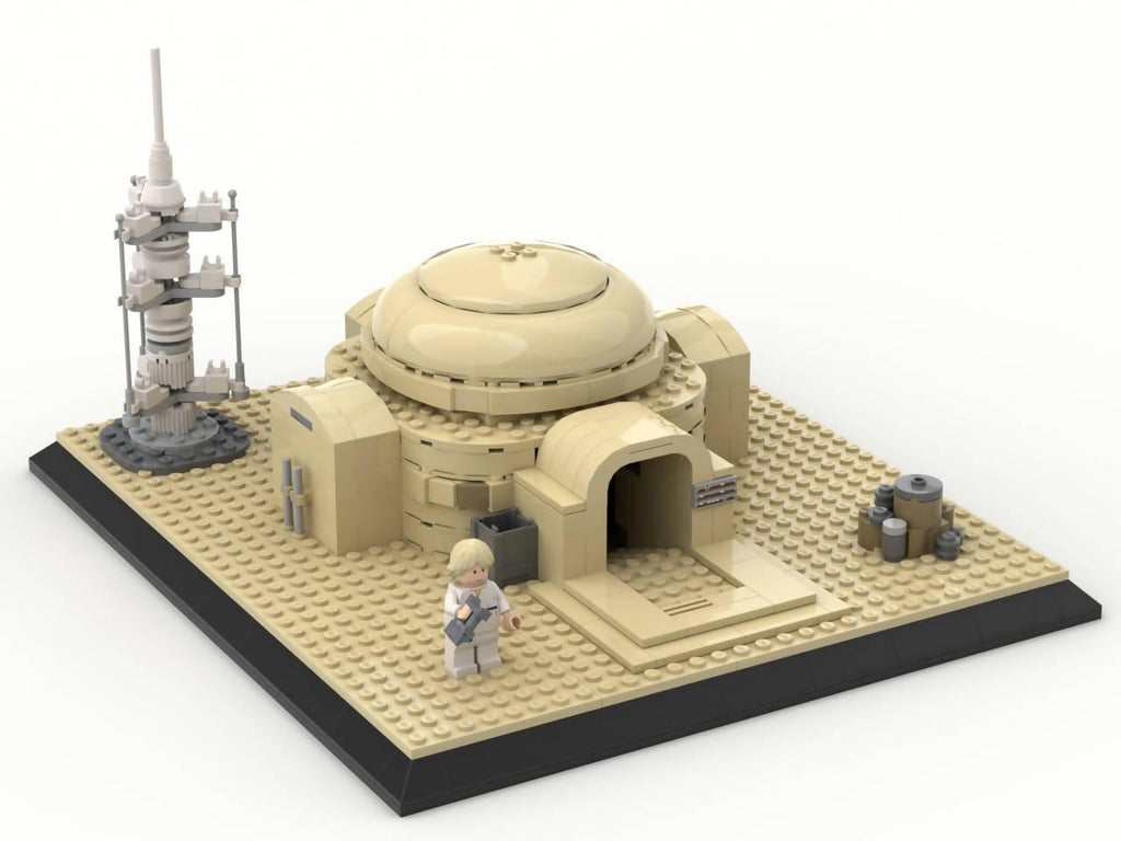 Luke's home on Tatooine (Lars Homestead)