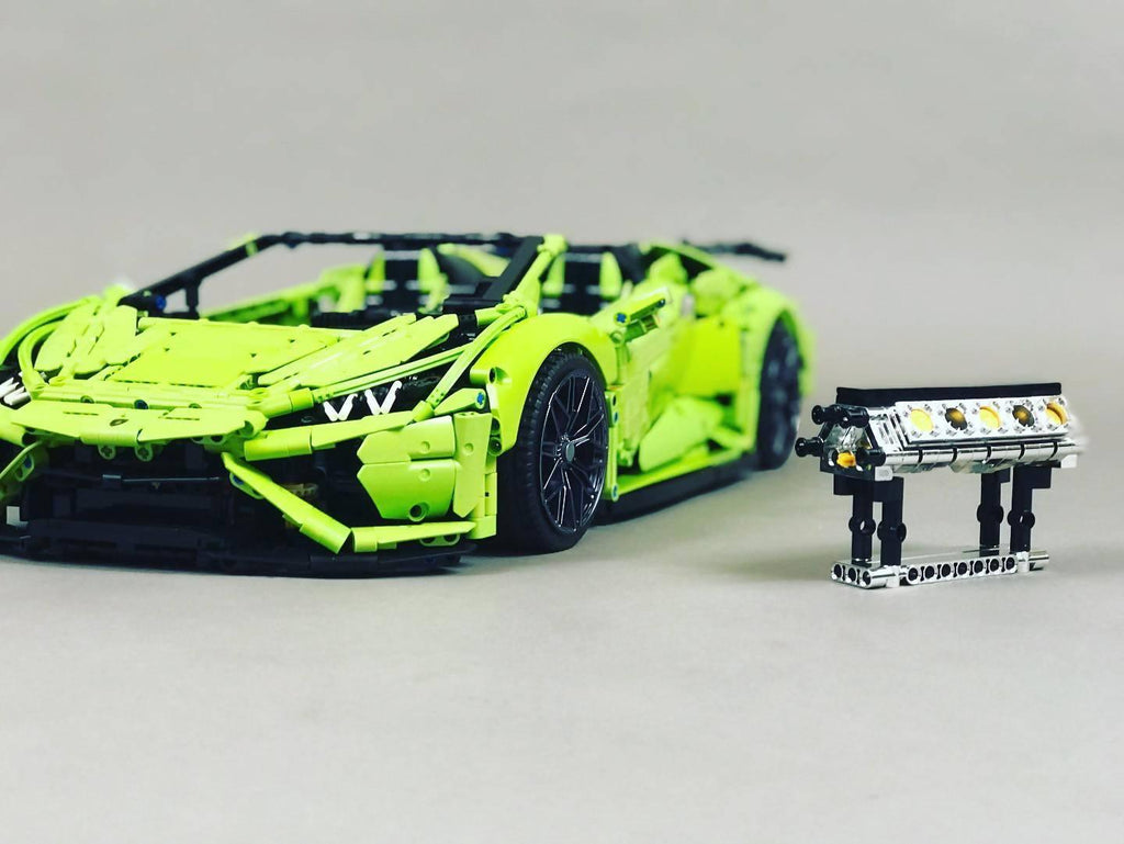 Lamborghini Huracan Evo Spyder - Additional parts pack from 42115 Sián