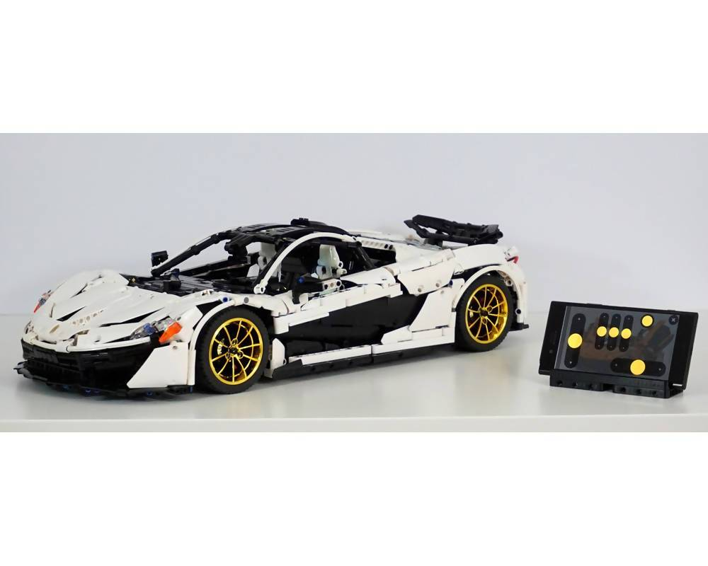 McLaren P1 Hypercar 1:8 RC Version - BuildAMOC