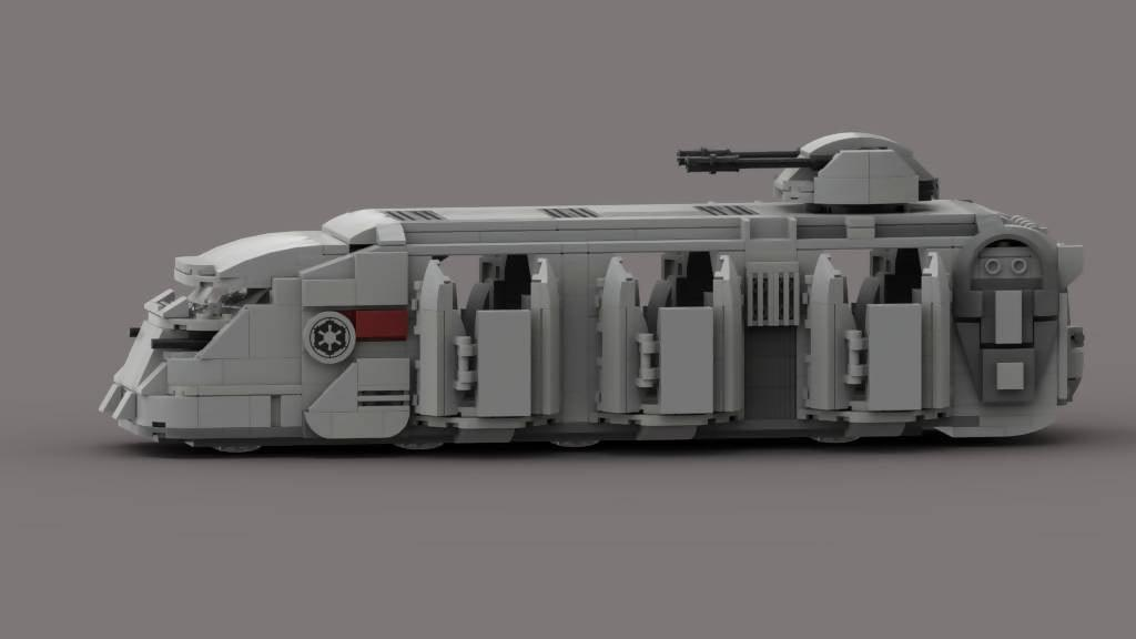 Imperial troop transport by papaglop