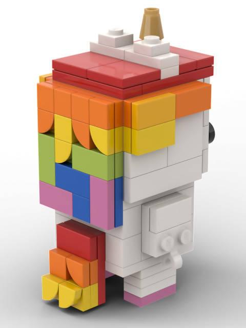 Unicorn Brickheadz