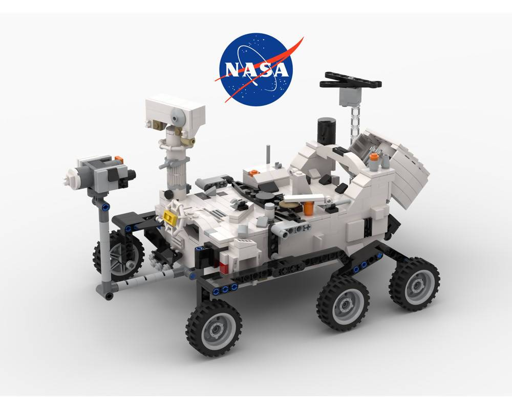 Perseverance Mars Rover & Ingenuity Helicopter - NASA - BuildAMOC