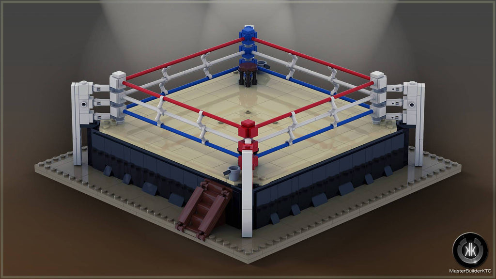Boxing Ring For Minifigures - BuildAMOC
