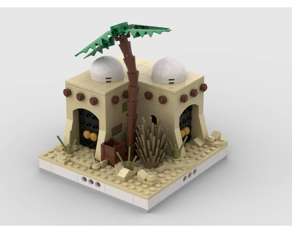 Desert House #4 for the Modular Desert village - BuildAMOC