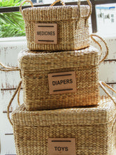 Load image into Gallery viewer, Baby Basket Set of 3